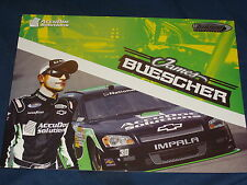 2012 JAMES BUESCHER #30 ACCUDOC SOLUTIONS NASCAR POSTCARD