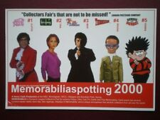 POSTCARD LONDON ADVERT FOR MEMORABILLASPOTTING 2000