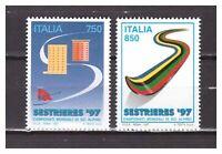 s30726) ITALIA  MNH** 1997 W.C. Sky 2v