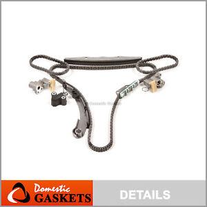 Fit 05-15 Nissan Frontier Pathfinder Xterra 4.0L DOHC Timing Chain Kit VQ40DE