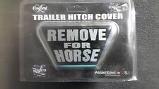 Trailer Hitch Cover Western Cowboy Team Roping Barrel Racing Made in the USA