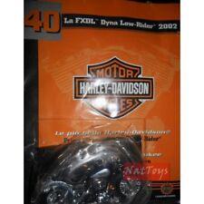 Moto Harley Davidson FXDL Dyna Low Rider 2002 +fasc.40 MODELLINO DIE CAST 1:18