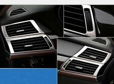 2008-2014 For BMW X6 E71 Dashboard Air Vent Outlet Frame Covers Trim Stainless