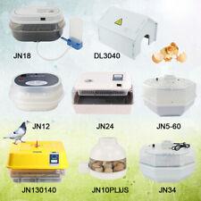 JANOEL Egg Incubator 10/12/18/24/34/60 Eggs Hatcher Automatic Turning Chicken