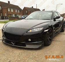 Mazda RX-8 JDM Style Front Bumper Lip / Splitter for Body Kit, Performance V6