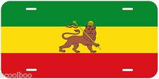 Lion of Judah Flag Novelty Car License Plate