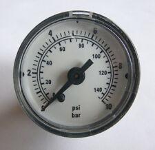 Druckluft Manometer 0-10 bar 0-140 psi Ø 40mm versch. Messbereiche NEU