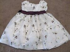 Ceci Kid Dress - White with Flowers - Babies Size Small