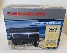Marineland Penguin Power Aquarium Filter 200 - 50 gallon - partially used