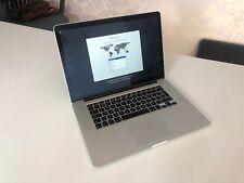 MacBook Pro 15.4 Retina Display 750gb, 16GB Memory. Mid (2012) - HIGH SPEC