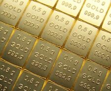 GOLDBARREN - SCHWEIZ VALCAMBI - 999 GOLD - ANLAGE OPTION WIE GOLDMÜNZE