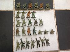Airfix 1/32 WWII British Commandos 23 Plastic Figures Soldiers