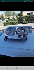 Headlight For 2011 2012 2013 Dodge Durango passenger Right Chrome Housing oem