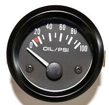 "2""Oil Pressure Meter Gauge 12 Volt car boat truck atv"