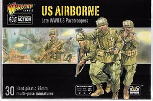 Warlord US AIRBORNE, Late WWII US Paratroopers, 28mm Figures, 13101 ST