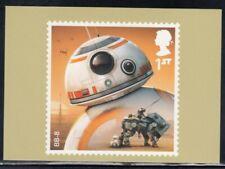 Great Britain Bb-8 Star Wars Royal Mail Stamp Card