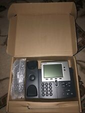 CP-7940G Cisco 2-Button Unified VoIP Phone w/Handset! FREE SHIPPING!