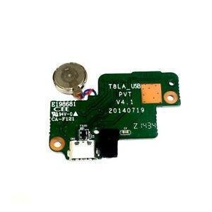 """New Lenovo Ideapad Tab 8"""" S8-50 Wifi Micro USB Charging Port Flex Board T8LA_USB"""