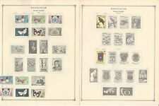Madagascar Collection 1895-1993 on Scott International Pages, Around 50 Pgs