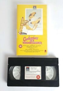 Confessions Of A Window Cleaner VHS Video Cassette Tape Adult Comedy 1974