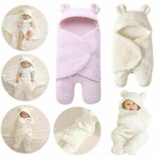 Pl/üsch Dengeng Babydecke // Pucksack f/ür Neugeborene 0-12 Monate a Baumwolle mit Kapuze