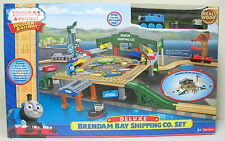 Thomas, Wooden, DELUXE BRENDAM BAY SHIPPING CO. SET, NIP, Mattel 2013t