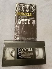 Roswell - The Roswell Report: Case Closed (1997) - VHS Tape - Documentary - UFO
