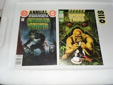 Swamp Thing Annual #1 and #3