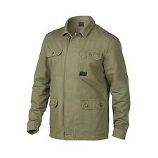 Oakley Dawn Shacket Jacket Button Shirt Mens Worn Olive SZ Large $110