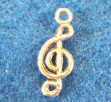 20Pcs. Tibetan Silver 3D MUSICAL NOTE Charms Pendants Earring Drops Finding M15