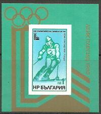 Bulgarien - Olympische Spiele Lake Placid 1980 Block 94 postfr. 1979