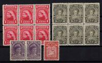 P131822/ NEWFOUNDLAND / CANADIAN PROV / LOT 1897 – 1908 MH - CV 200 $