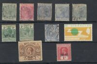 British Commonwealth QV/KGV Collection Of 11 JK2070