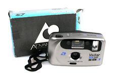 Vivitar Xb200 Big View Point And Shoot Film Camera In Orig. Box
