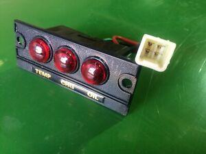 Indicator dash light assembly part# CH11893 John Deere 850,950,1050 chg-oil-temp