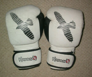 HAYABUSA BOXING GLOVES 16 oz , MUAY THAI KICK BOXING K1 KSW MMA UFC GYM SPARRING