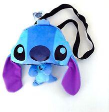 """Disney* Lilo and Stitch Flat Plush Doll-10"""" Crossbody/shoulder Bag- STITCH -9200"""