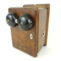 Antique Western Electric Ringer Box 1894 - WOW