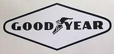 2 Goodyear pegatina de vinilo calcomanía 290mm Classic Rally Carrera Motorsport Envío Gratis!