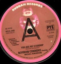 """NORMAN CONNORS you are my starship/bubbles (promo uk 1976) 7"""" WS EX/ BDS 449"""
