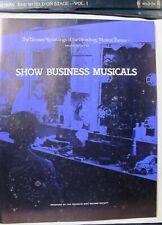 Franklin Mint Broadway Show Business Musicals