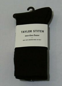 Taylor Stitch Men's The Merino Sock Maroon Dot Size Large/XL NWT
