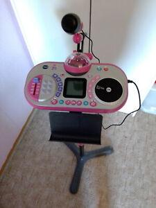 VTech Kidi Super Star DJ Studio Mikrofon - Pink