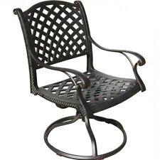 Outdoor swivel rocker cast aluminum patio seat