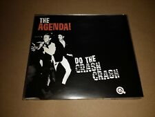 THE AGENDA * DO THE CRASH CRASH * GARAGE ROCK CD SINGLE 2003 EXCELLENT