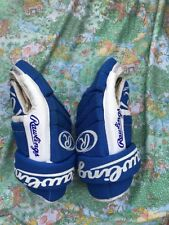 VINTAGE RAWLINGS 14 Inch  HOCKEY GLOVES Blue RHG 1140