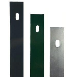 Flachabdeckleiste für Pfosten 60x40 Doppelstabmattenzaun Flachleiste Pfosten