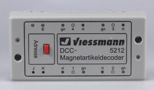 Viessmann H.O. #5212 DCC Decoder for Solenoid Accessories, Used, Excellent
