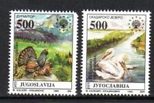 YUGOSLAVIA MNH 1992 SG2822-2823 NATURE PROTECTION