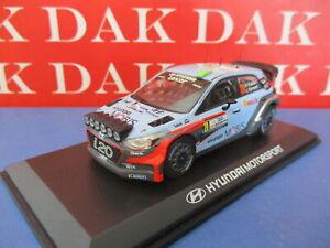 Die cast 1/43 Modellino Auto Hyundai I20 WRC Rally Argentina 2016 H. Paddon